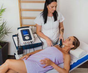 terapija ultrazvukom, fizioterapeut